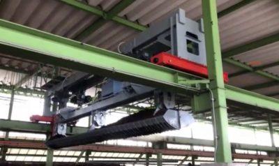糞尿を堆肥にする工業用機械の重量物輸送